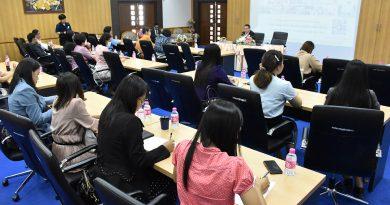 อธิการ มรภ.เลย ประชุมคณาจารย์เตรียมแผนงานโครงการเสริมสร้างพลังทางสังคม เพื่อพัฒนาท้องถิ่น ปี 2564
