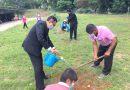 อธิการบดี มรภ.เลย นำบุคลากรปลูกต้นไม้ในวันปลูกต้นไม้ประจำปีของชาติ